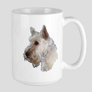 Scottish Terrier (Wheaten) Large Mug