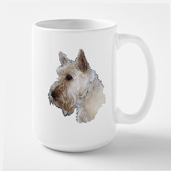 Scottish Terrier (Wheaten) Large Mug