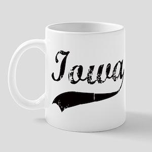 Vintage Iowa Mug