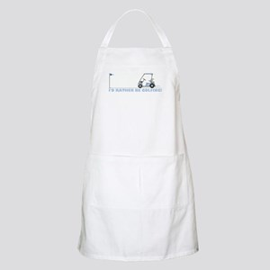 I rather be golfing Apron