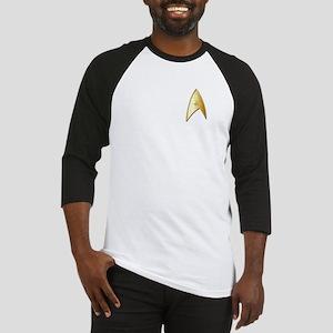 Star Trek Logo gold Baseball Jersey