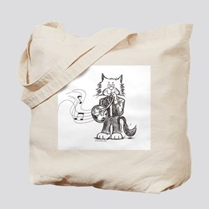 Catoons™ French Horn Cat Tote Bag