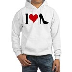I love High Heels Hooded Sweatshirt