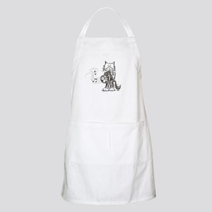 French Horn Cat Apron