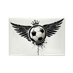 Soccer Rectangle Magnet (100 pack)