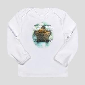 Starfish Wisdom Long Sleeve Infant T-Shirt