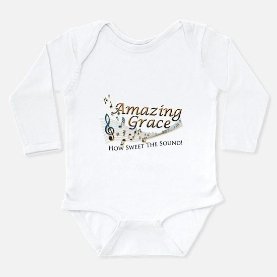 Amazing Grace Long Sleeve Infant Bodysuit