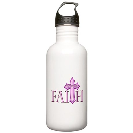 Woman of Faith Stainless Water Bottle 1.0L