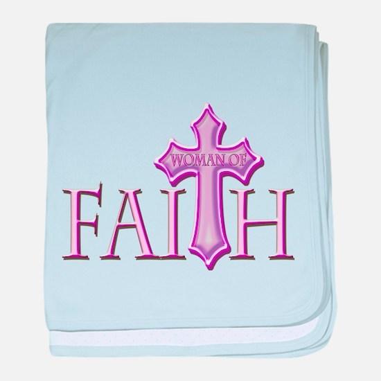 Woman of Faith baby blanket
