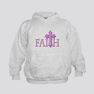 Woman of Faith Kids Hoodie