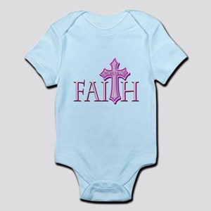 Woman of Faith Infant Bodysuit