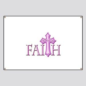 Woman of Faith Banner