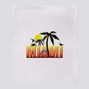 Miami Throw Blanket