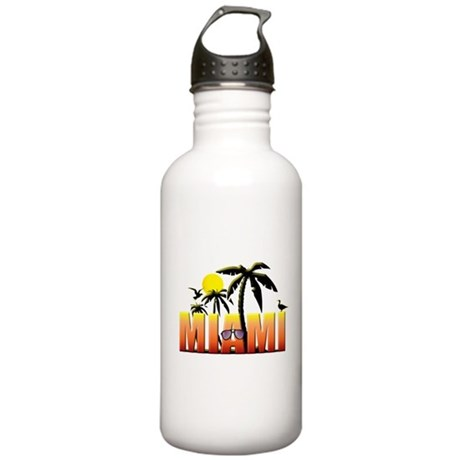 Miami Stainless Water Bottle 1.0L