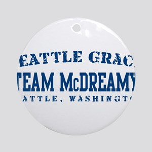 Team McDreamy - Seattle Grace Ornament (Round)