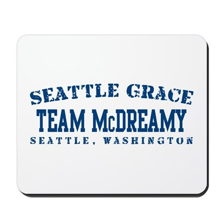 Team McDreamy - Seattle Grace Mousepad