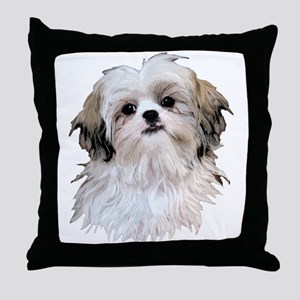 Shih Tzu Lover Throw Pillow