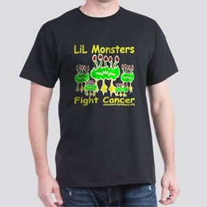 LiL Monsters Fight Cancer Dark T-Shirt