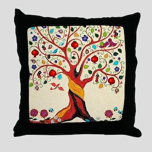 TREE OF LIFE 7 Throw Pillow
