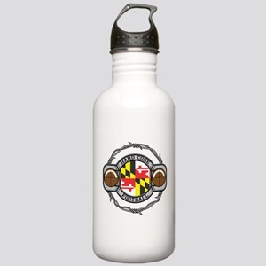 Maryland Football Stainless Water Bottle 1.0L