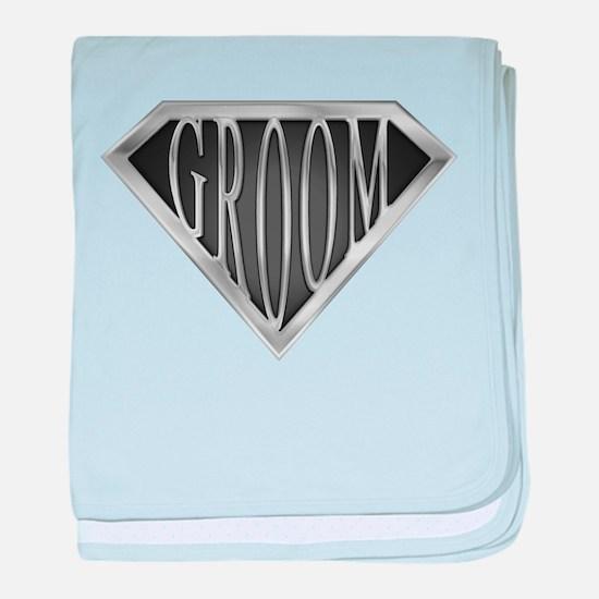 SuperGroom(metal) baby blanket