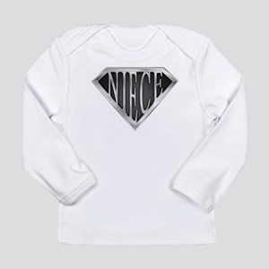 SuperNiece(metal) Long Sleeve Infant T-Shirt