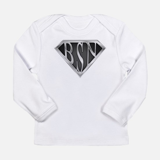 SuperBSN(metal) Long Sleeve Infant T-Shirt