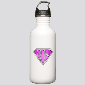 Super RN - Pink Stainless Water Bottle 1.0L