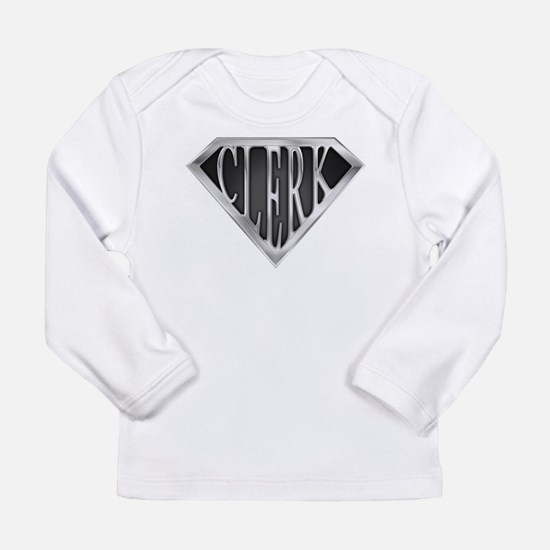 SuperClerk(METAL) Long Sleeve Infant T-Shirt