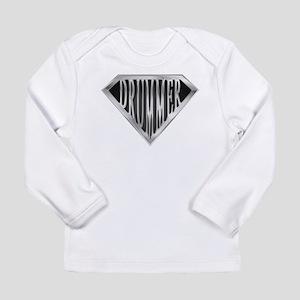 SuperDrummer(metal) Long Sleeve Infant T-Shirt
