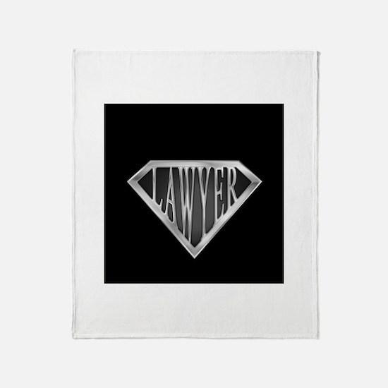 SuperLawyer(metal) Throw Blanket