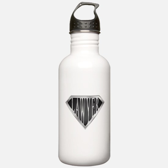 SuperLawyer(metal) Water Bottle