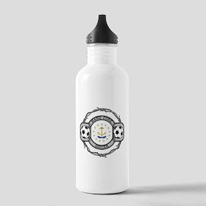 Rhode Island Soccer Stainless Water Bottle 1.0L