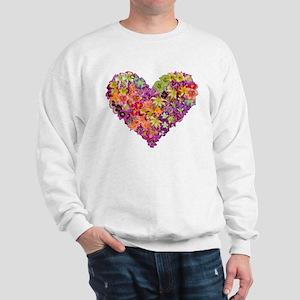 Fairyscape Daylilies Sweatshirt