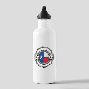 Texas Soccer Stainless Water Bottle 1.0L