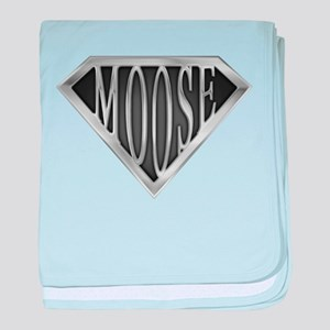 SuperMoose(metal) baby blanket