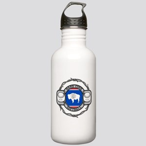 Wyoming Softball Stainless Water Bottle 1.0L