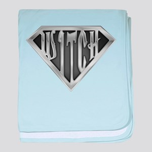 SuperWitch(metal) baby blanket