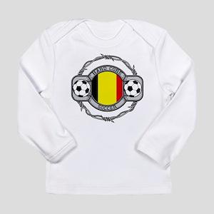 Belgium Soccer Long Sleeve Infant T-Shirt