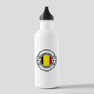 Belgium Soccer Stainless Water Bottle 1.0L