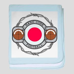Japan Football baby blanket