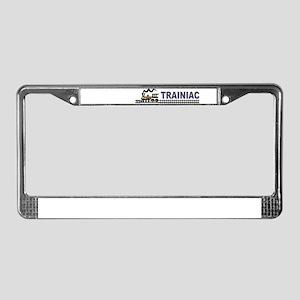 Trainiac License Plate Frame