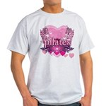 Peace Love Pilates by Svelte.biz Light T-Shirt