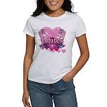 Peace Love Pilates by Svelte.biz Women's T-Shirt