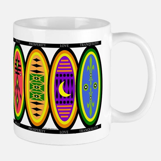 Happiness Shields Mug