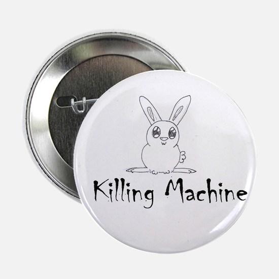 White Bunny Button