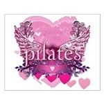 Peace Love Pilates by Svelte. Small Poster
