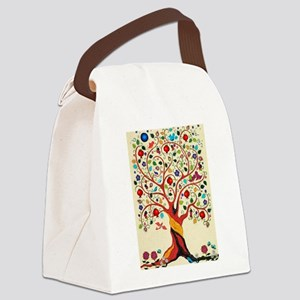 TREE OF LIFE 7 Canvas Lunch Bag