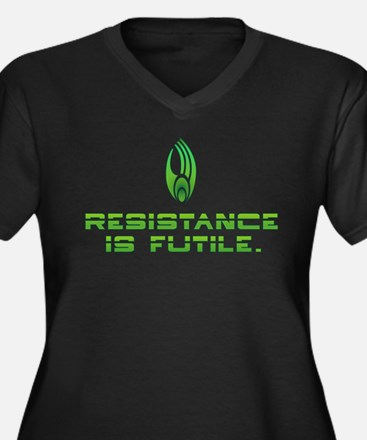 Star Trek - Borg Resistance Women's Plus Size V-Ne