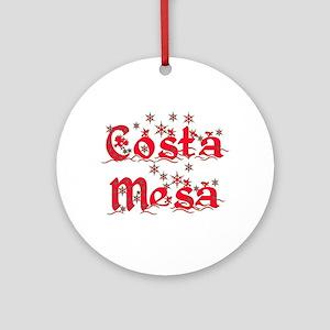 Costa Mesa Ornament (Round)